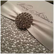 glamour crystal crystal couture luxury wedding stationery