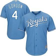 Gordon Light Youth Kansas City Royals Alex Gordon Light Blue Alternate Cool