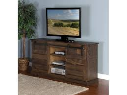 The Barn Door Odessa Tx by Sunny Designs Home Entertainment Tobacco Leaf Barn Door Tv Console
