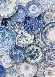 blue plates decor blue plates plates and blue