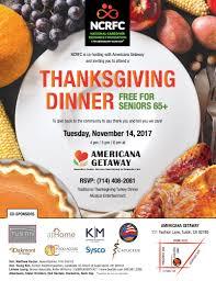 national caregiver resource foundation thanksgiving dinenr