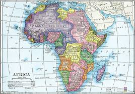 africa map before colonization colonial africa map my