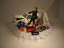 car cake toppers wedding cake toppers car pics charming ideas mechanic wedding cake