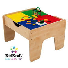 target kidkraft 2 in 1 lego compatible train activity table