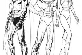 sections batman coloring pages superman spiderman jobspapa