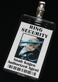 ring security wedding ring security secret badge ring bearer bling security
