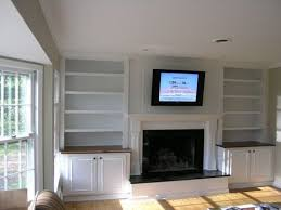 Built In Fireplace Gas best 25 shelves around fireplace ideas on pinterest home