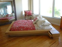 Bed Frame No Headboard Bedroom Inspiring Wood Frame No Headboard With Additional