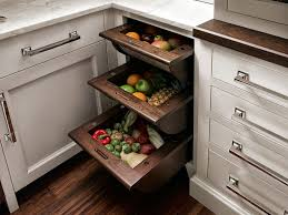 Kitchen Cabinet Storage Bins Traditional Kitchen With Complex Marble Counters By Peter