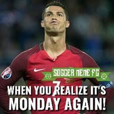 Us Soccer Meme - soccer meme fc on twitter monday is upon us once again monday