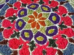 easy rangoli designs with flowers u0026 petals floral rangoli designs