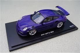 porsche 911 model cars teile com model car porsche 911 991 gt3 rs ultraviolet spark