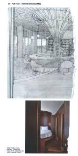 roman williams 211 elizabeth street hand drawing interior