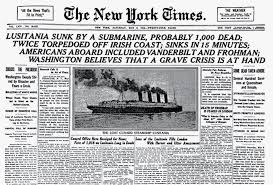sinking of the lusitania the history reader a history blog from st martins press