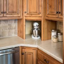 Kitchen Cabinet Appliance Garage by Appliance Solutions Storage Solutions Custom Wood Products