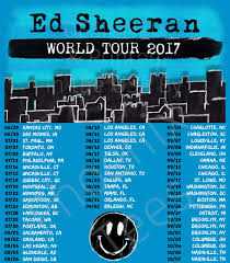 ed sheeran tour 2017 ed sheeran world tour 2017 t shirt phoenix tees