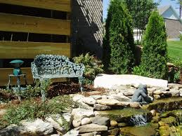 Backyard Rock Garden by Interesting Exterior Remarkable Rock Garden Design For Home