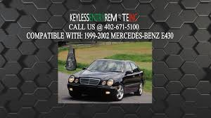 how to replace mercedes benz e430 key fob battery 1999 2000 2001