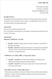 resume template for resume exles for college student geminifm tk