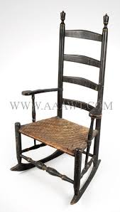Vintage Rocking Chairs Antique Furniture Chairs Early Country Pilgrim American