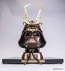 Upcycled Art - samurai vader lux star wars sculpture u2014 gabriel dishaw