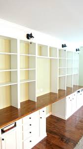Contemporary Bookshelves Shelves Build A Wall To Wall Built In Desk And Bookcase Unit