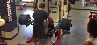 Nfl 225 Bench Press Record Nfl Player Michael Pierce Squats 725 Lbs Unbelted Barbend