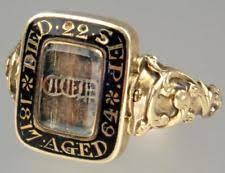 mourning ring mourning ring ebay