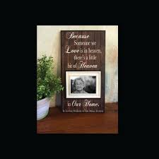 remembrance picture frame lost loved one memorial frame bereavement memory frame