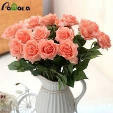Decorative Flowers For Home by Online Get Cheap Bloom Artificial Flowers Aliexpress Com