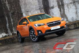 subaru suv price review 2018 subaru xv 2 0i s philippine car news car reviews