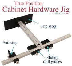 kitchen cabinet door hardware jig cabinet hardware jig for door pulls sawdust