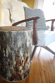 Tree Stump Nightstand 13 Diys To Repurpose Tree Stumps From Your Garden Gardenoholic