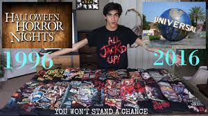 vip experience halloween horror nights the greatest halloween horror nights shirt collection youtube