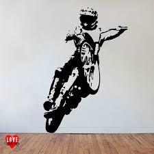 bruce penhall wall art sticker speedway rider chips
