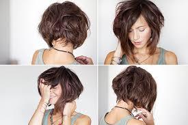 coupe de cheveux a la mode carre plongeant court flou coupe de cheveux style de cheveux