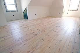 Wax Laminate Flooring Mixture Of White Wood White Pine And Spruce Random Width Plank