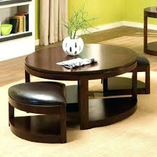 Coffee Table With Ottoman Seating Coffee Table With Seats Underneath Captivating Coffee Table
