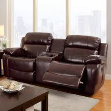 Black Leather Reclining Loveseat Reclining Sofa Cm6312 In Brown Leather Match W Options
