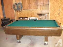 pool tables for sale in michigan pool table 7ft fisher beaverton mi for sale in saginaw
