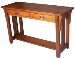 Oak Sofa Table Sofa Table Design Best Collection Oak Mission Sofa Table Mission
