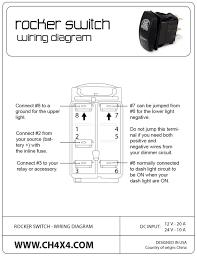 wiring diagram for rocker switch gooddy org