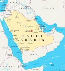 Beirut On Map Saudi Arabia Political Map With Capital Riyadh National Borders