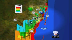 Map Of Broward County Florida by Miami Dade County Updates Hurricane Evacuation Zones Maps