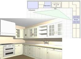 awesome to do l shaped kitchen layouts with island dimensions