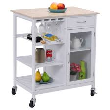 Kitchen Rolling Cabinet Amazon Com Eight24hours Portable Kitchen Rolling Cart Faux Marble