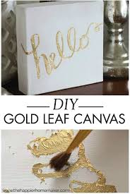Diy Paintings For Home Decor Best 25 Gold Canvas Ideas On Pinterest Diy Canvas Diy Canvas