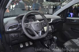 opel opc 2017 opel opc interior at 2015 geneva motor show indian autos blog