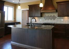 island back panel treatments traditional kitchen chicago