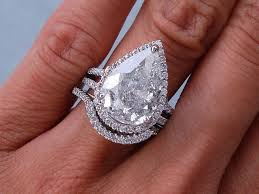 engagement rings that are not diamonds pear shaped engagement rings durham